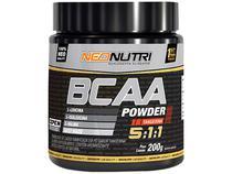 BCAA Powder 200g Sabor Limão - Neo Nutri