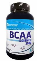BCAA Science 2000 Aminoácido de Cadeia Ramificada Performance Nutrition 100 Tabletes.