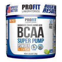 Bcaa Super Pump Powder 300g - Limão - Profit -