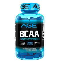 BCAA Ultra Concentrado AGE - 120 tabletes - Nutrilatina age