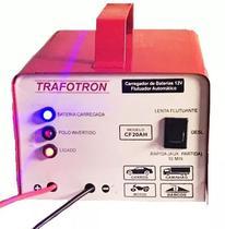 BCarregador De Bateria 12v Inteligente Cf20 - Trafotron