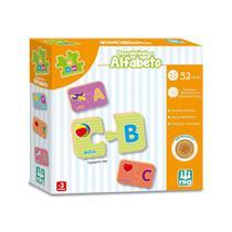 Be a Bá Descobrindo o Alfabeto de Madeira 52 Pçs  - Nig -