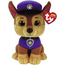 Beanie Boos Patrulha Canina - Chase  25 cm - Dtc - Dtc (Brinquedos)