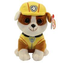 Beanie Boos Patrulha Canina - Rubble - DTC -