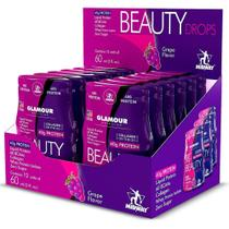 Beauty drops protein glamour - 12 btl grape midway -