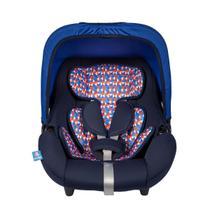 Bebê Conforto Azul Xadrez 0+ (13kgs) - Protek -