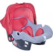 Bebê Conforto Styll Baby - Grafite e Vermelho 0 a 13Kg -