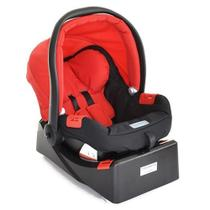Bebê Conforto Touring Evolution Red + Base Burigotto