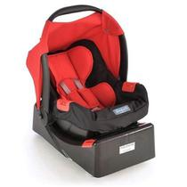 Bebê Conforto Touring Evolution Se Red + Base Burigotto