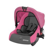Bebê Conforto Weego Cozy 13Kg Preto Cinza E Rosa -