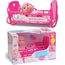 Bebê Hora De Dormir Boneca Com Berço e Mamadeira Brinquedos - Beetoys