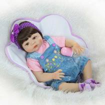 Bebê Realista Real Reborn 100 Silicone. Pronta Entrega Valentina -