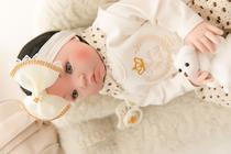 Bebê Reborn 21 Itens Princesa Boneca Senta Silicone Bolsa Morena creme - Meu Xodó