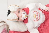 Bebê Reborn 21 Itens Princesa Boneca Senta Silicone Bolsa Morena vermelha - Meu Xodó