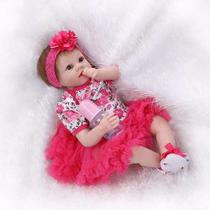 Bebê Reborn Boneca Larinha Pronta Entrega -