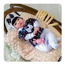 Bebê Reborn Boneca Realista Linda Completa Original MLB -