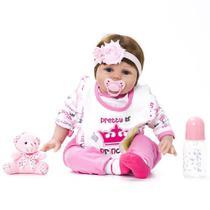 Bebê Reborn Kaydora Princesa -