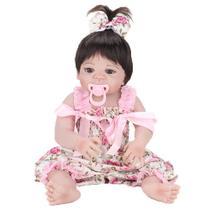Bebe Reborn Laura Baby Pink Flower -