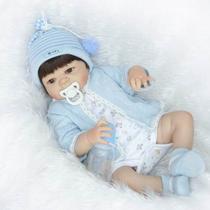 Bebê Reborn Menino De Silicone Pronta Entrega -