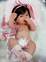 Bebê Reborn Paloma Em Silicone - Kelly Lemos  Bebes  Reborn