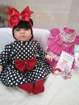 Bebê Reborn Real Brinquedo Menina Surpresa vermeha-Doll realist - Sid Nyl