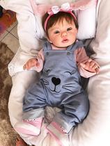 Bebê Reborn Realista - Abigail (PODE DAR BANHO - Corpo todo em vinil) - Lanny Baby