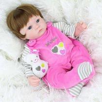 Bebê Reborn Weew 01 Boneca Silicone Menina Realista Barato - Kaydora