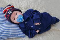 Bebê Tipo Reborn Menino Príncipe com Acessórios - Fantasy Baby