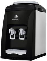 Bebedouro de Mesa Aço Inox e Preto Refrigeração por Compressor - Karina