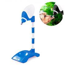 Bebedouro para Pets Automatico Lambe Lambe 1 L Altura Regulavel Azul  Truqys -
