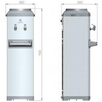 Bebedouro Refrigerado Por Compressor De Coluna Aço Inox K10 - Karina
