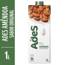 Bebida a Base de Soja Sabor Amendoas 1L Ades -