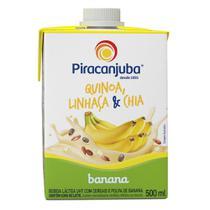 Bebida com Cereais Piracanjuba Banana 500ml -