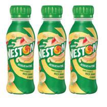 Bebida Láctea Nestlé Neston Vitamina Maçã Banana e Mamão 280ml - Kit 03 Unidades -
