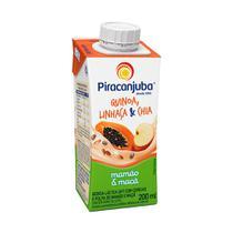 Bebida Láctea Piracanjuba Quinoa Mamão Maçã E Cereais 200ml -