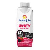 Bebida Láctea Piracanjuba Whey Zero Lactose Frutas Vermelhas 250ml -