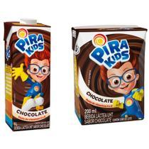 Bebida Láctea Pirakids Chocolate 200ml Embalagem com 27 Unidades - Piracanjuba
