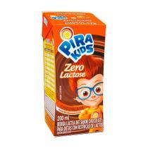Bebida Láctea Pirakids Chocolate Zero Lactose 200ml - Piracanjuba