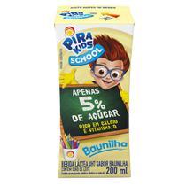 Bebida Láctea Pirakids School Sabor Baunilha 200ml - Piracanjuba