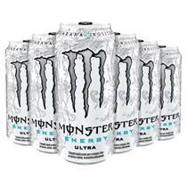 Bebida Monster Energy Ultra Caixa Com 6 Energético 473 Ml - Geral
