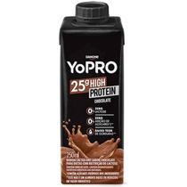 Bebida protéica yopro uht chocolate 250ml danone -