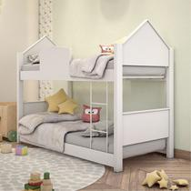 Beliche Mini Cama Casinha Branca - Mais De Casa