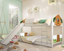 Beliche Montessoriana Casa na Árvore com Escorregador - Mais De Casa
