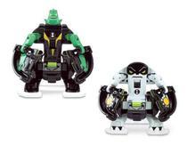 Ben 10 - 2 Bonecos De Batalha P/ Omnitrix Lançador - Sunny 2 - Playmates Toys