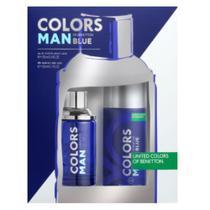 Benetton Colors Man Blue Kit - Eau de Toilette + Desodorante -