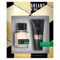 Benetton Dream Big for Men Kit - Eau de Toilette + Loção Pós-barba -