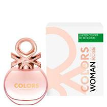 Benetton Perfume Feminino Colors Rose Eau de Toilette 80ml -