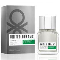 Benetton united dreams aim high eau de toilette - perfume masculino 60ml -