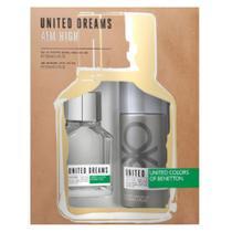Benetton United Dreams Aim High Kit - Eau de Toilette + Desodorante -