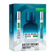 Benetton United Dreams Together Kit - EDT + 2 Boosters -